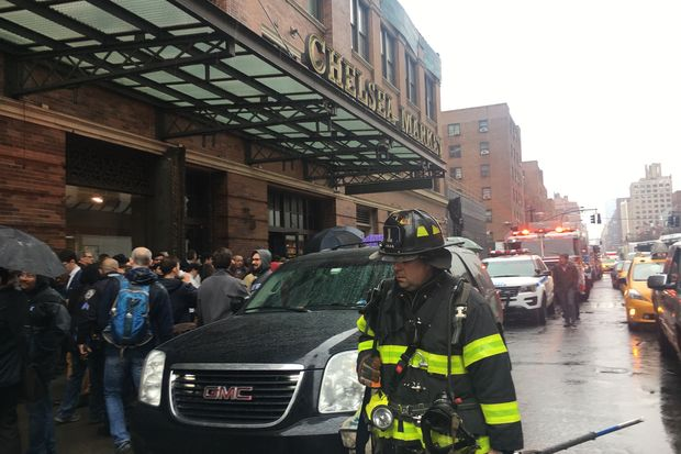 A fire broke out inside Chelsea Market Tuesday afternoon, officials said.