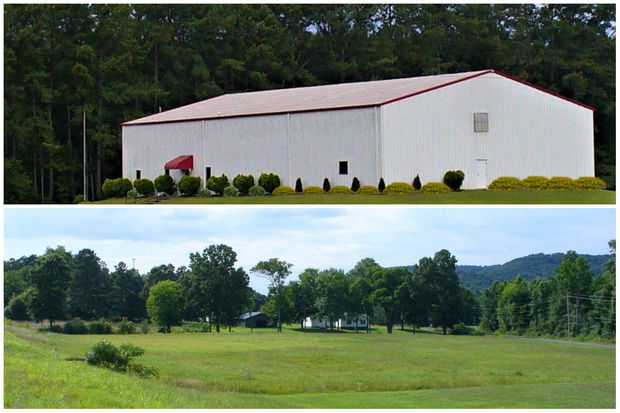The new 8,000-square-foot facility where Felines & Canines Rescue Center will live in Alabama.