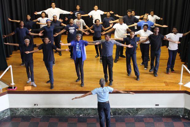 Barnard Elementary Getting Ballet, Modern Dance Exposure Via 'The ...