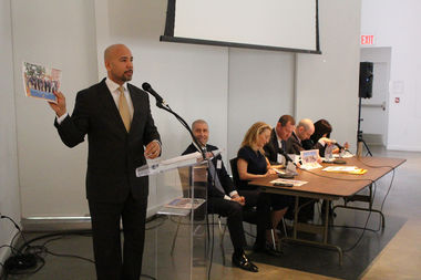 Bronx Borough President Ruben Diaz Jr. released his annual development report at an event at the Bronx Museum of the Arts on Wednesday morning.