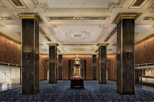 Waldorf Astoria Hotel Restored To Former Art Deco Glory In New