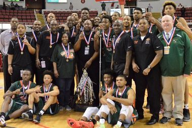 Morgan Park High School defeated Fenwick (69-67) in overtime to win its the Class 3A state championship in boys basketball March 18.