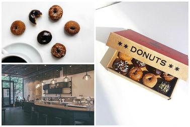 An array of doughnuts at Ipsento 606.