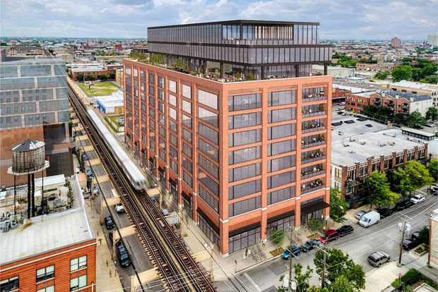 Developers broke ground on the 12-story office building in Fulton Market Friday that will house companies that work with McDonald's.