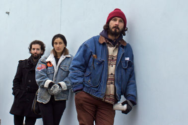 Shia LaBeouf outside the Museum of the Moving Image in Astoria on Jan. 20, 2017.