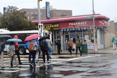 A series of safety improvements will be implemented along Jamaica Avenue between 168th Street and Francis Lewis Boulevard, the DOT said.