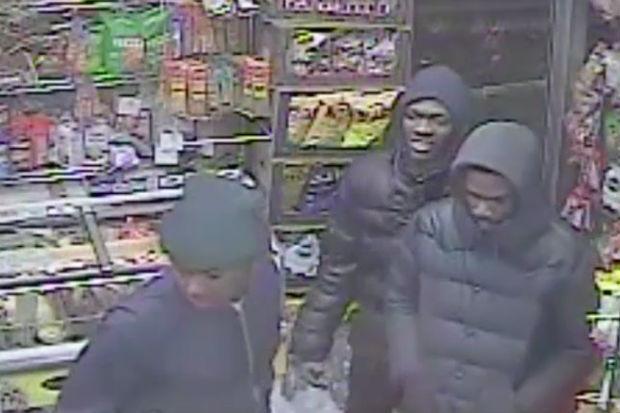 Four men rob woman outside deli next to biggie smalls for Biggie smalls mural brooklyn