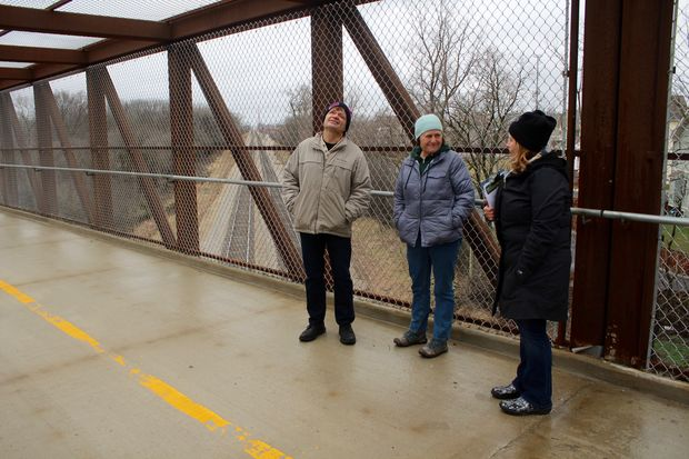 U.S. Rep Mike Quigley (D-Chicago) toured four bike paths being built on the Northwest Side Friday.