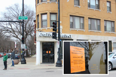 The company announced the Lincoln Avenue cafe is permanently closed as of Monday.