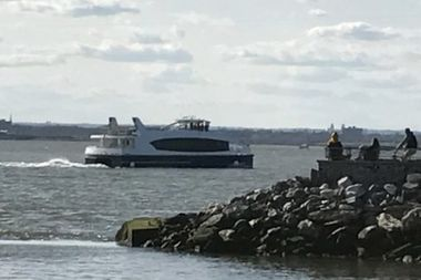 The first Citywide Ferry arrived in New York Harbor on April 2, 2017.