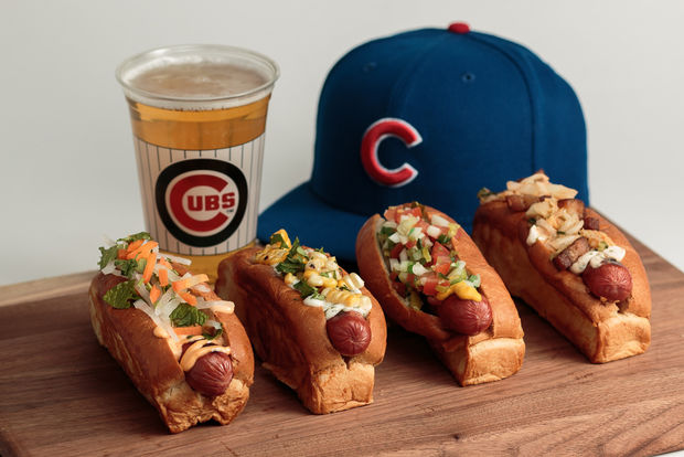 The Chicago Cubs will have several new menu items at Wrigley Field during the 2017 season.