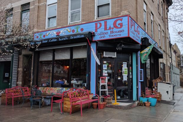 The owners of the PLG Coffee House and Tavern at 499 Rogers Ave. have put the eatery up for sale, they said.