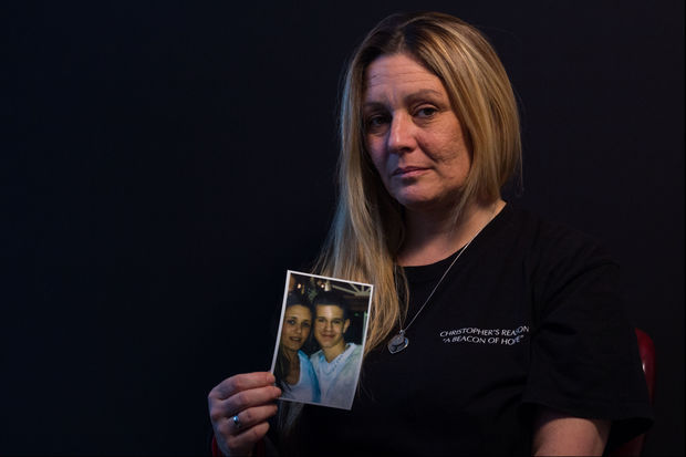Ann Marie Perrotto lost her son, Christopher Perrotto, after he overdosed on pills in 2011 when he was 22.