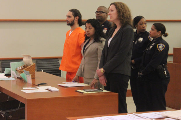 Jose Gonzalez appeared in court on Wednesday and pleaded not guilty to first degree murder charges.