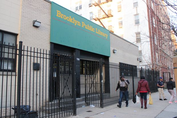 The Current Brower Park Library Located 725 St Marks Ave Will Soon