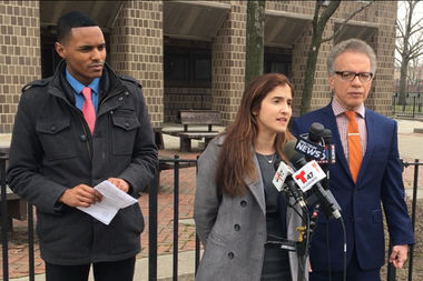 Councilman Ritchie Torres, community advocate Marjorie Velazquez and Councilman James Vacca released a series of proposals aimed at increasing elevator safety on Wednesday.