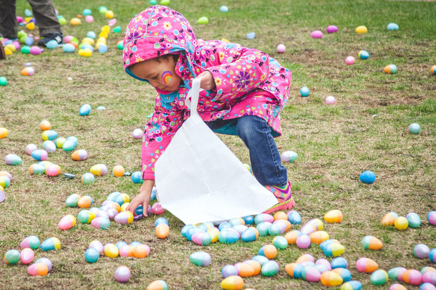 Soul City Church will host a 50,000 Easter egg hunt at Mary Bartelme Park Saturday.