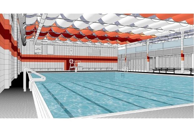 Brother Rice High School will refurbish its pool and north entrance as part of a $300,000 facelift. Construction will begin at the end of June and is expected to wrap up when classes resume in August.