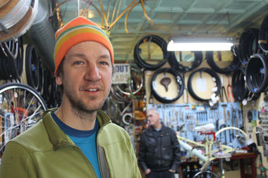 Kevin Womac, owner of Boulevard Bikes, is being forced to move his business after 14 years.