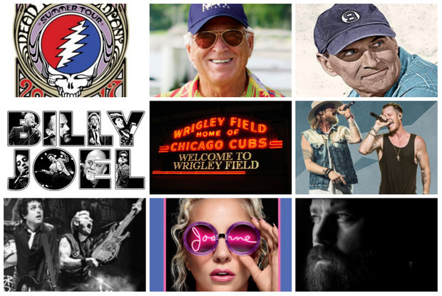 Wrigley Field is hosting big name acts in 2017.