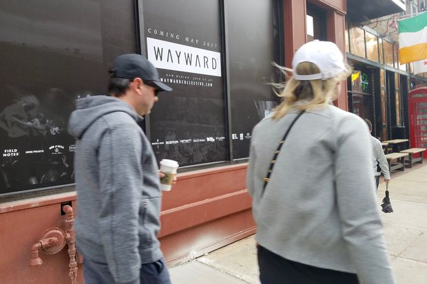 Wayward, a new retail shop that sells outdoor apparel for adventurers, plans to open in mid-May in the former Papajin.