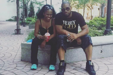 Jamie Albert, in an undated photo with her brother Ronald McPhatter, who was killed in a shooting at Irving Plaza on May 25, 2016.