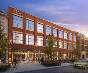 A rendering of Assemble's new office coming to 1714 W. Division St.