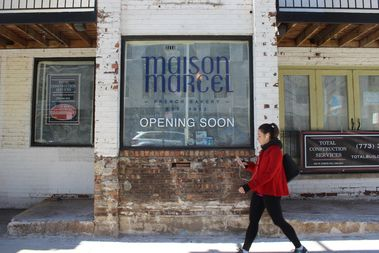 The former Melanthios Greek Char House will become a French restaurant called Maison Marcel.