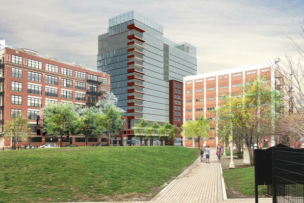 Developers Revealed New Renderings Of The Proposed 17 Story 855 W Adams Project Wednesday