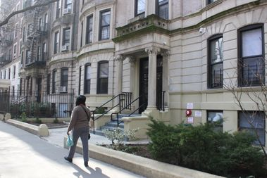 This residence at 174 Prospect Pl. recently became a home for homeless women with mental health issues run by the nonprofit Center for Urban Community Services.