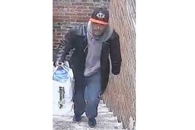 Police are looking for a many they say reached into an apartment window and snatched a $60 plumber's snake.