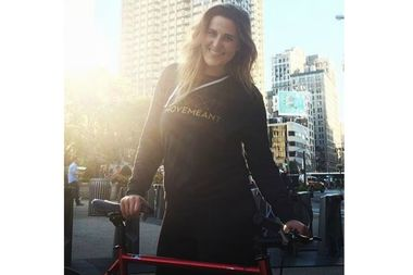 Kelly Hurley, 31, of the Lower East Side was critically injured when struck by a box truck driver as she traveled up First Avenue. She died about a week after the crash.