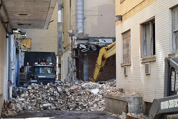 Edgewater Hospital Demolition Won't Be Complete Until The ...