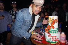 Chance The Rapper Chicken Cake