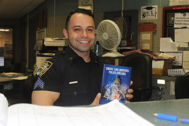 Sgt. Jordan Castro of PSA 7 has written a novel about the NYPD called