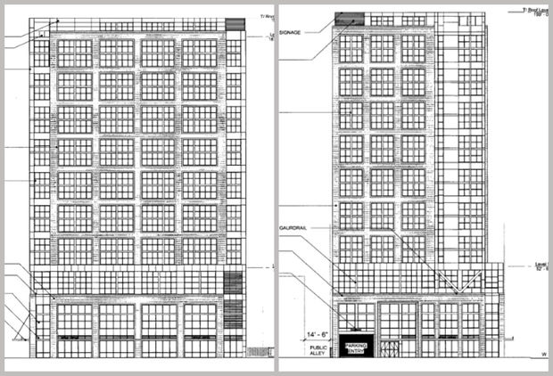 Developer Sterling Bay plans to build a 19-story hotel at 113 N. May St. near the new McDonald's corporate headquarters in the West Loop.