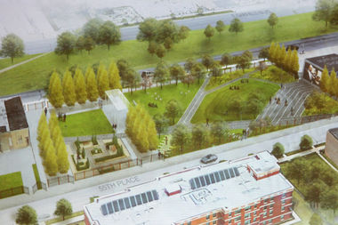 The University of Chicago and Theaster Gates want to buy five city-owned vacant lots on Garfield Boulevard to build a park.