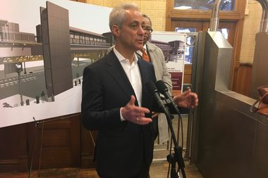 Aviation Commissioner Ginger Evans will complete her review of airport security in two weeks, Mayor Rahm Emanuel said Friday.