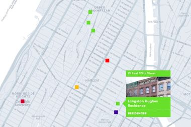 A screenshot from the NYC LGBT Historic Sites Project.