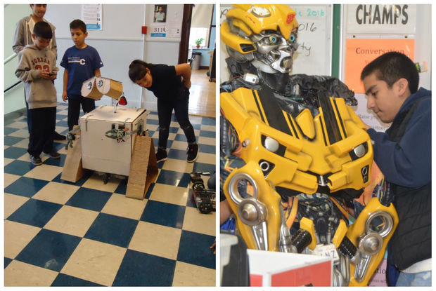 Robotics Club highlights.