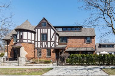 English Tudor In the Heart of Sauganash Listed For $949,000
