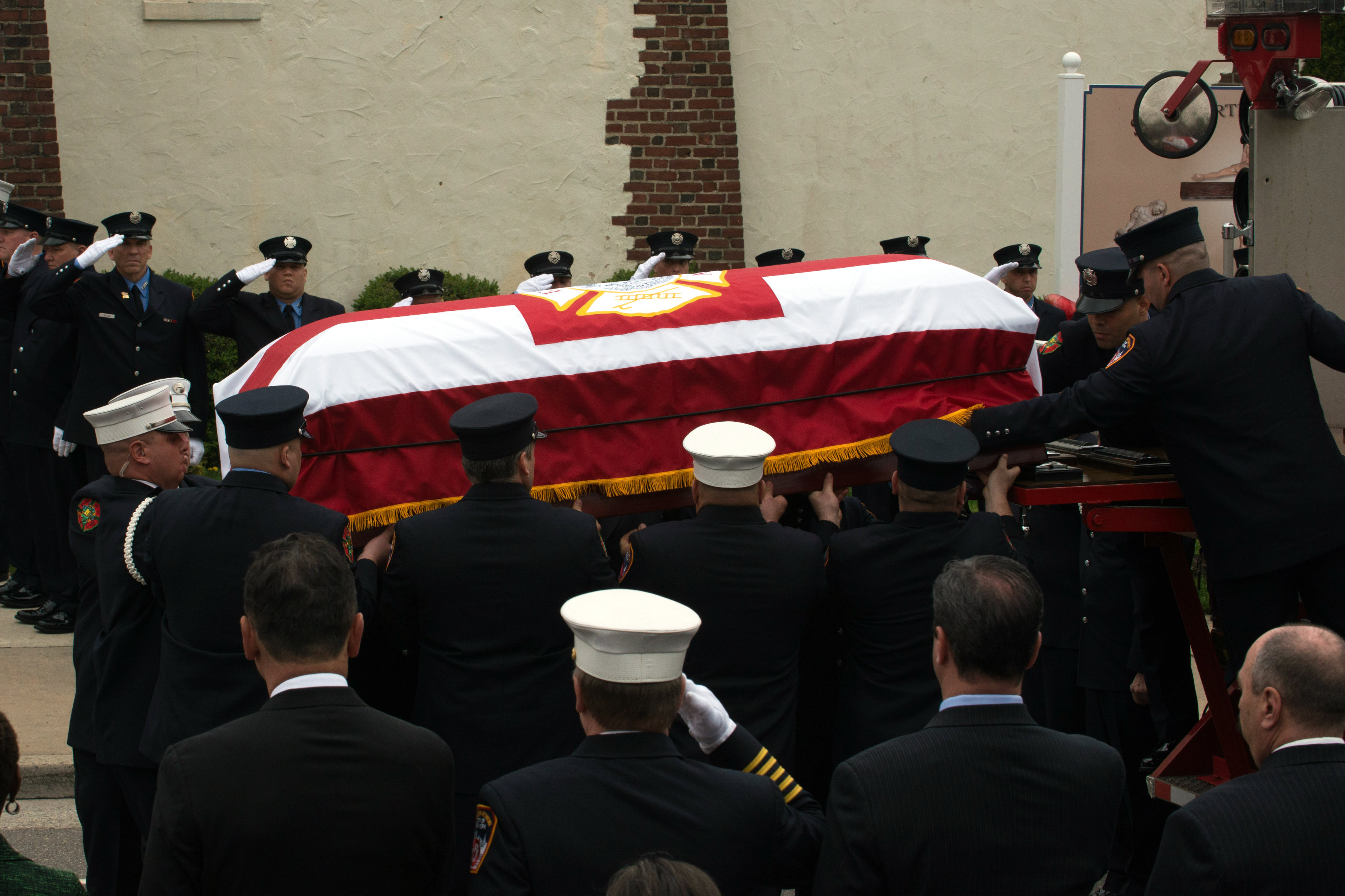 Funeral for FDNY Firefighter William Tolley