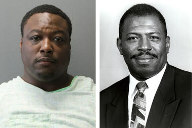 Earl Wilson (left) is charged with murdering Cook County Judge Raymond Myles (right) on April 10.