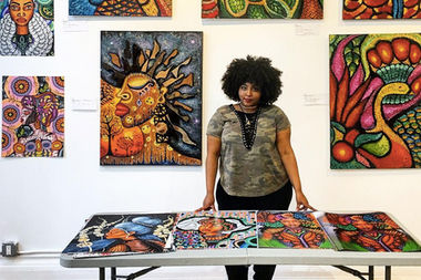 Michelle Obama Muralist Stole My Work Then 'Attacked' My Character: Artist