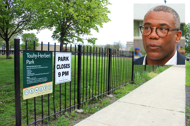 Ald. Walter Burnett Jr. (27th) plans to convert streets near Touhy-Herbert Park to a residential permit parking zone.
