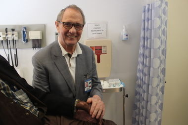 Dr. William Levis, attending physician at New York's leprosy clinic, said he is still learning new things about the disease after decades spent treating it.
