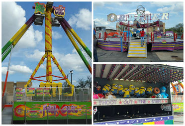 The carnival, which kicked off Thursday at 2622 N. Pulaski Road, goes until Sunday evening.