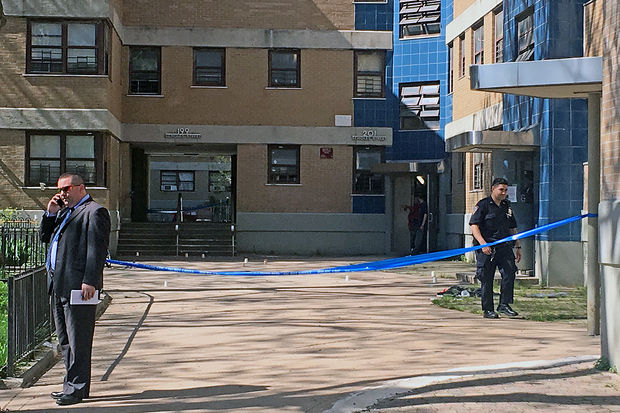 A 22-year-old man was fatally shot at 203 Scholes St. in Williamsburg Friday afternoon, April 28, police said.