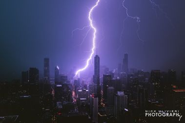 Chicago Photographer Captures Epic Photos Of City Lightning
