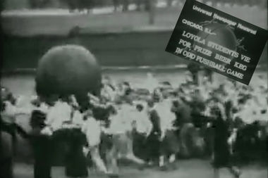 Loyola Students Fight Over Keg At Prohibition's End In 1933 Video